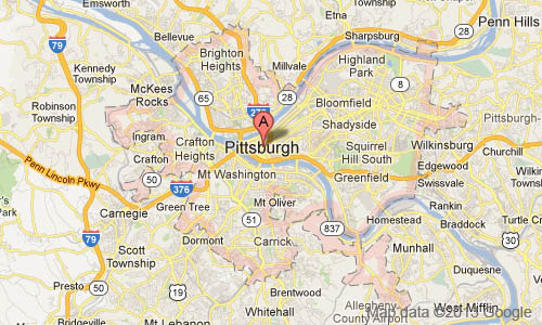 pittsburgh Private Investigator Territory