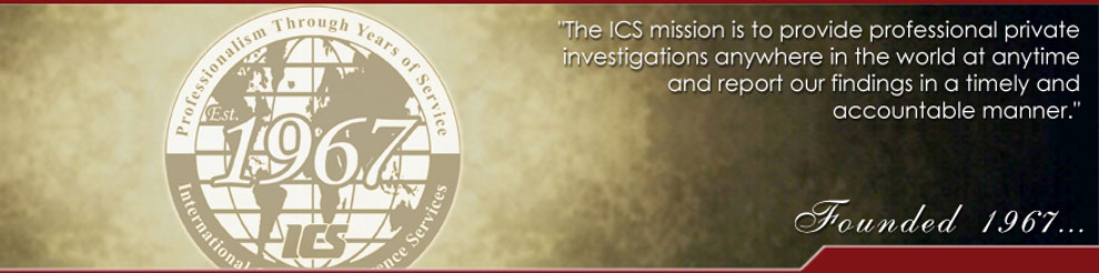 International Counterintelligence Services Private Investigator